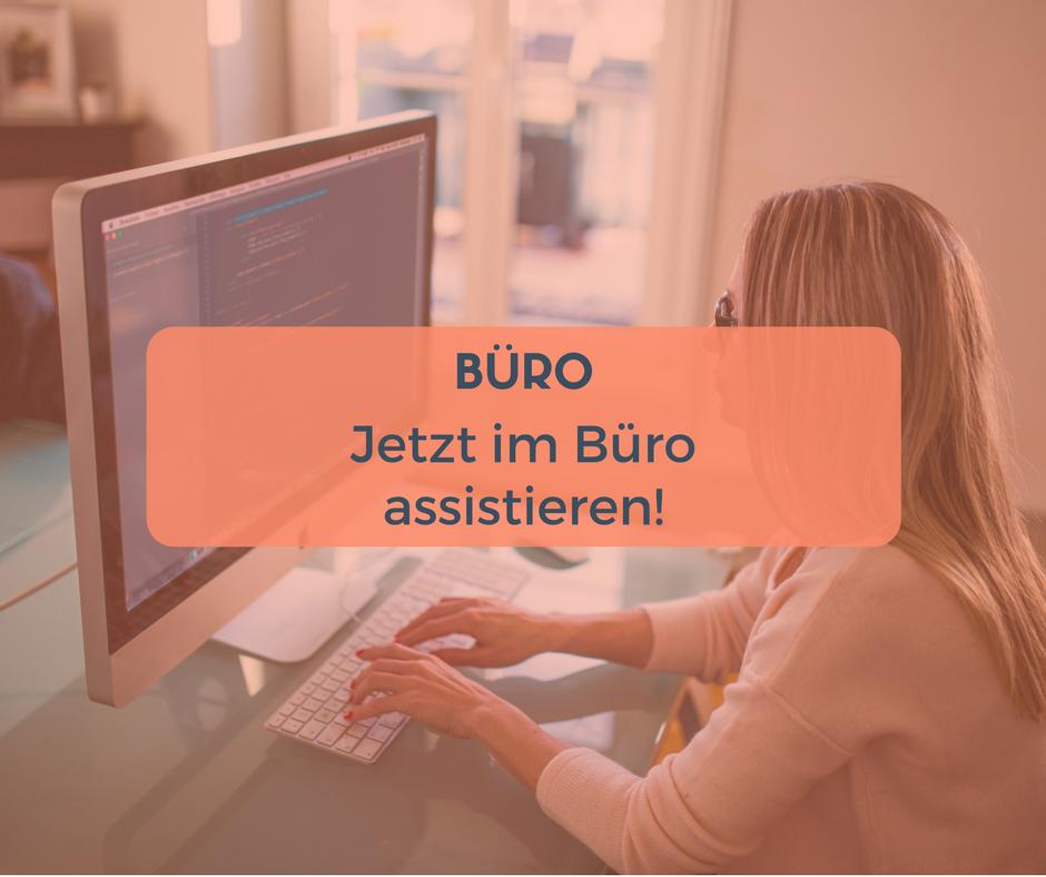 Nebenjob als Büroassitent in Berlin