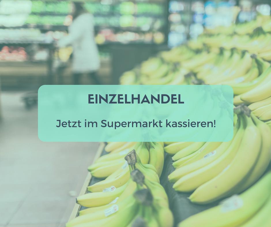 Nebenjob im Supermarkt in Berlin