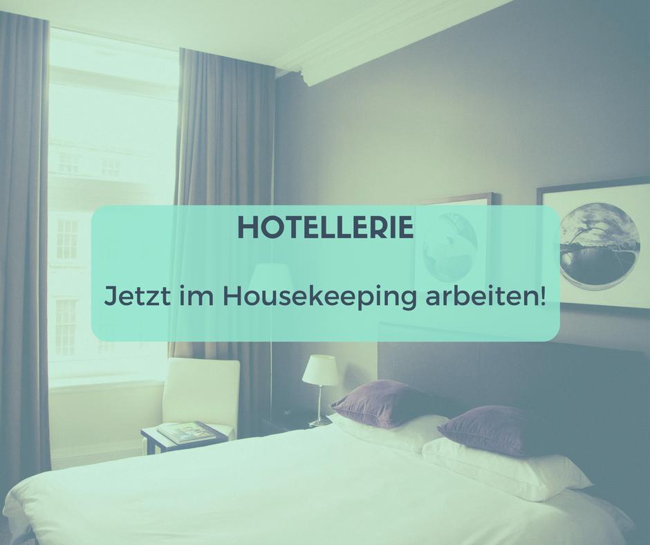 Nebenjob Housekeeping in Berlin