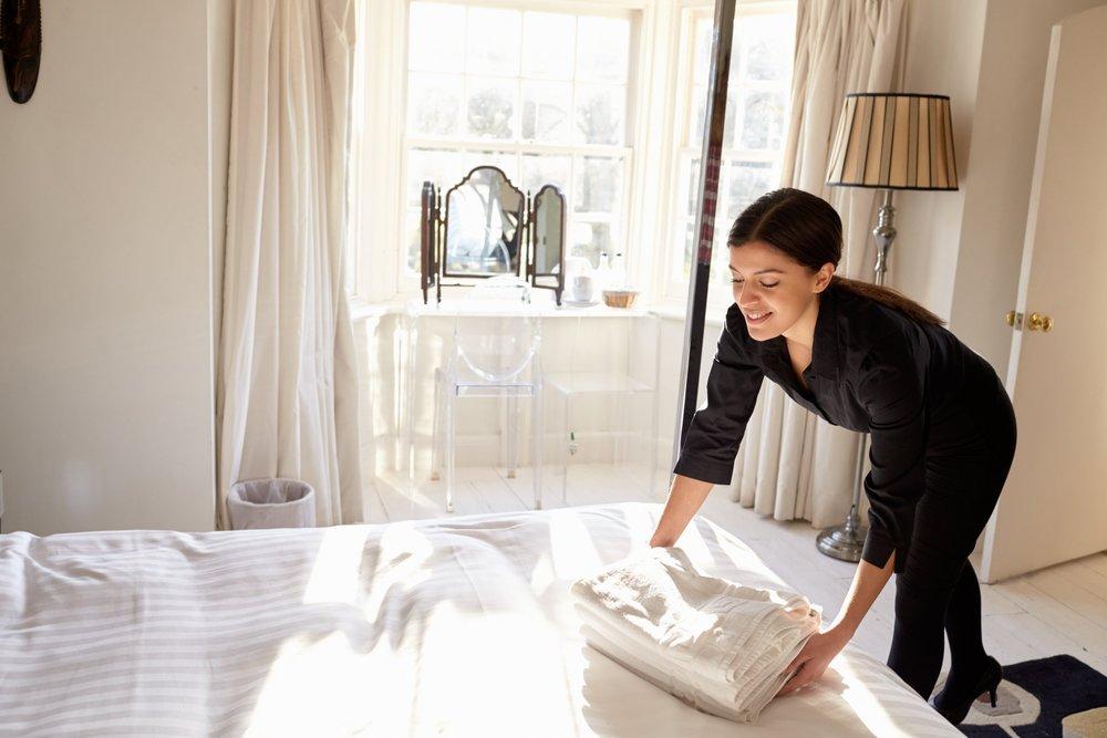 Copy of Housekeeping-Mitarbeiter