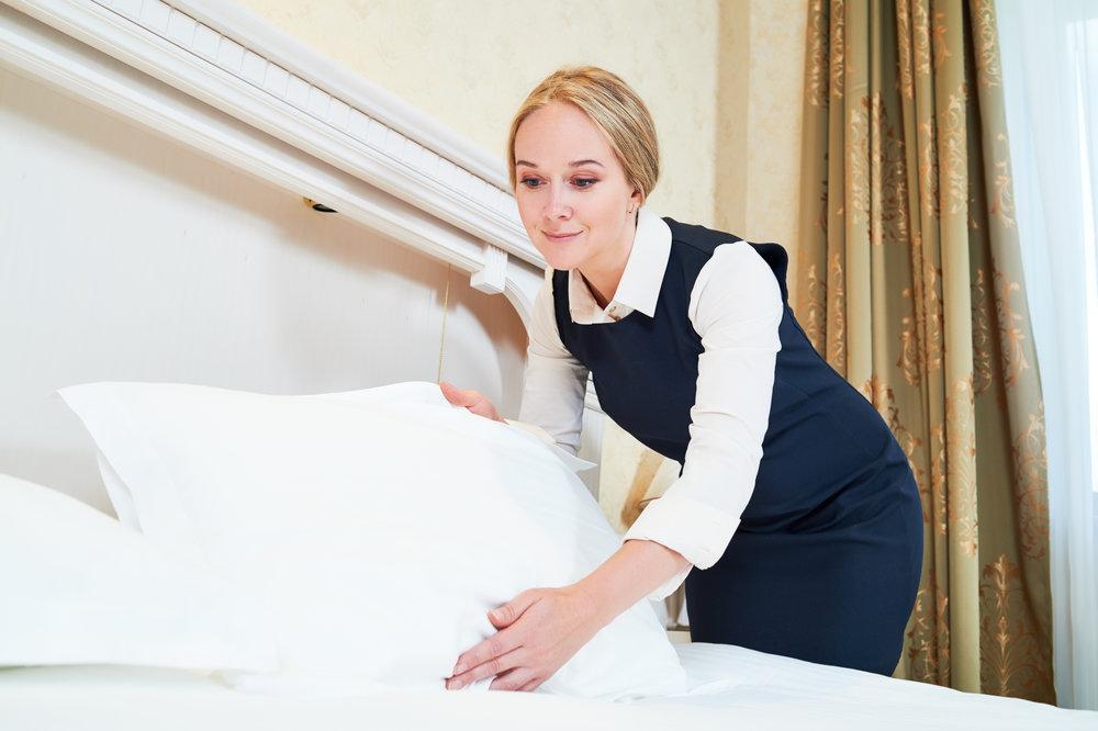 Housekeeping und andere Aushilfstätigkeiten im Hotel