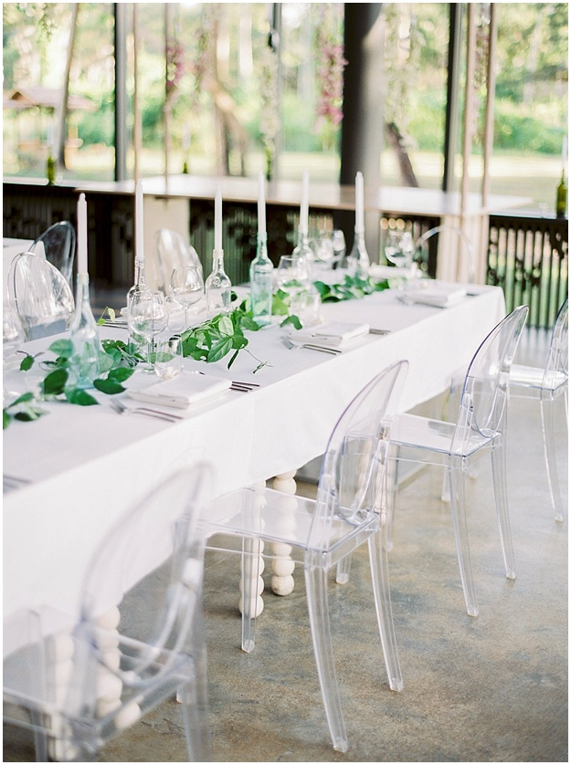 modern table decoration