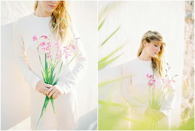 organic Ibiza wedding floral