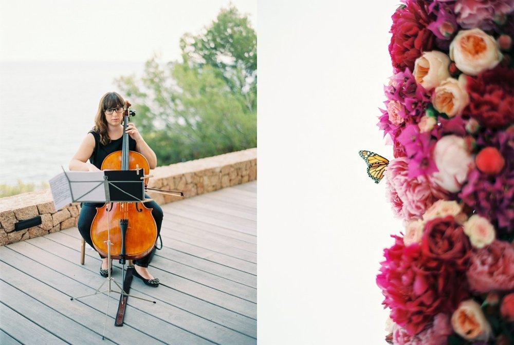 Violinist Ibiza Wedding