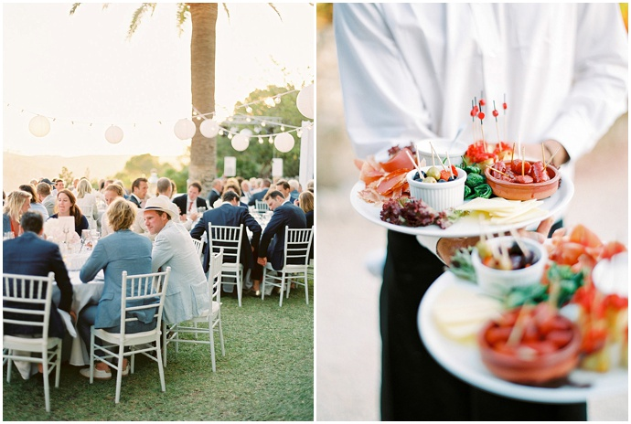 Ibiza catering wedding
