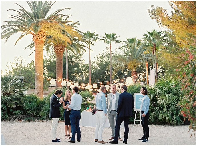 Ibiza private villa wedding