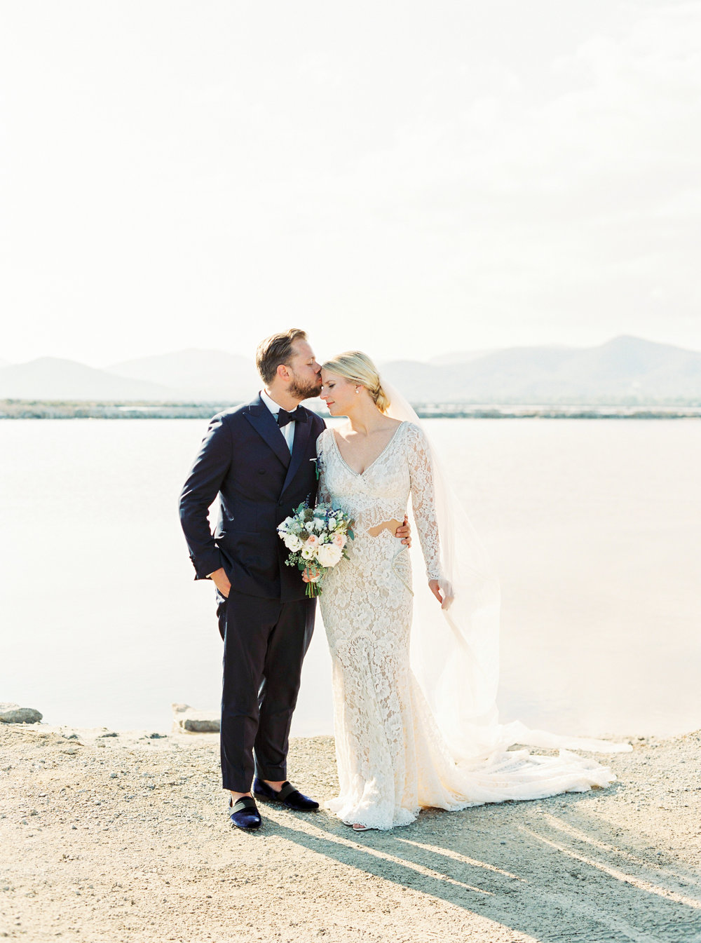 Ibiza Luxury Wedding Stylish Bride and Groom