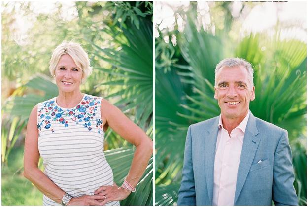 Parent Portraits Wedding Reception