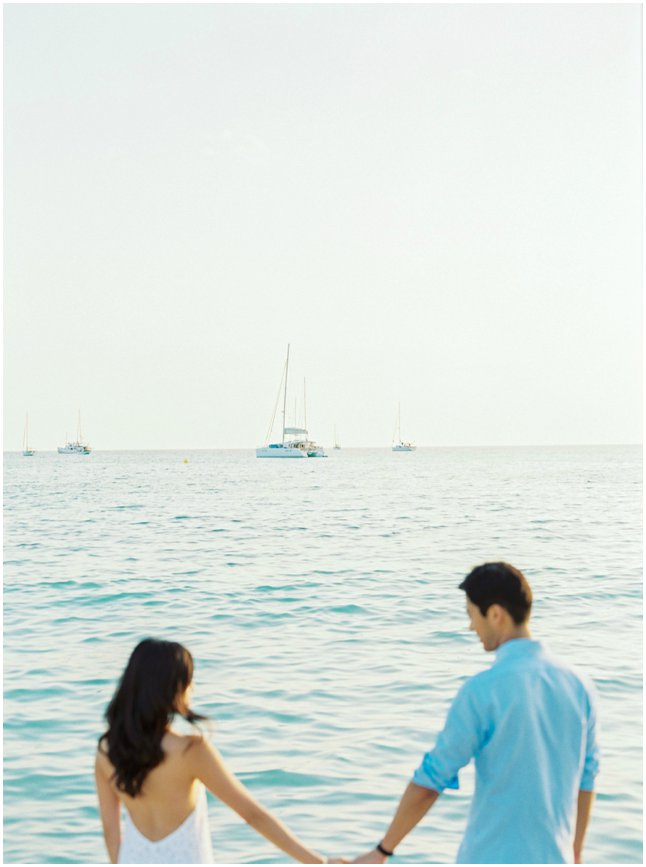 NY Couple Engagement Photo Shoot Mallorca