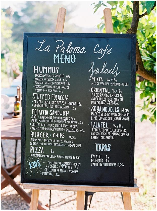 La Paloma restaurant Ibiza, San Lorenzo