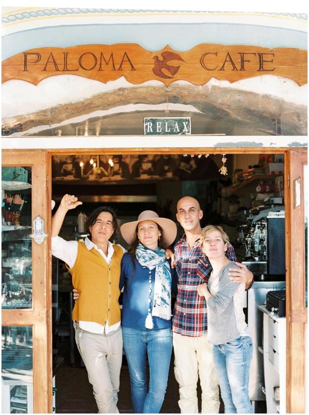 La Paloma Ibiza team