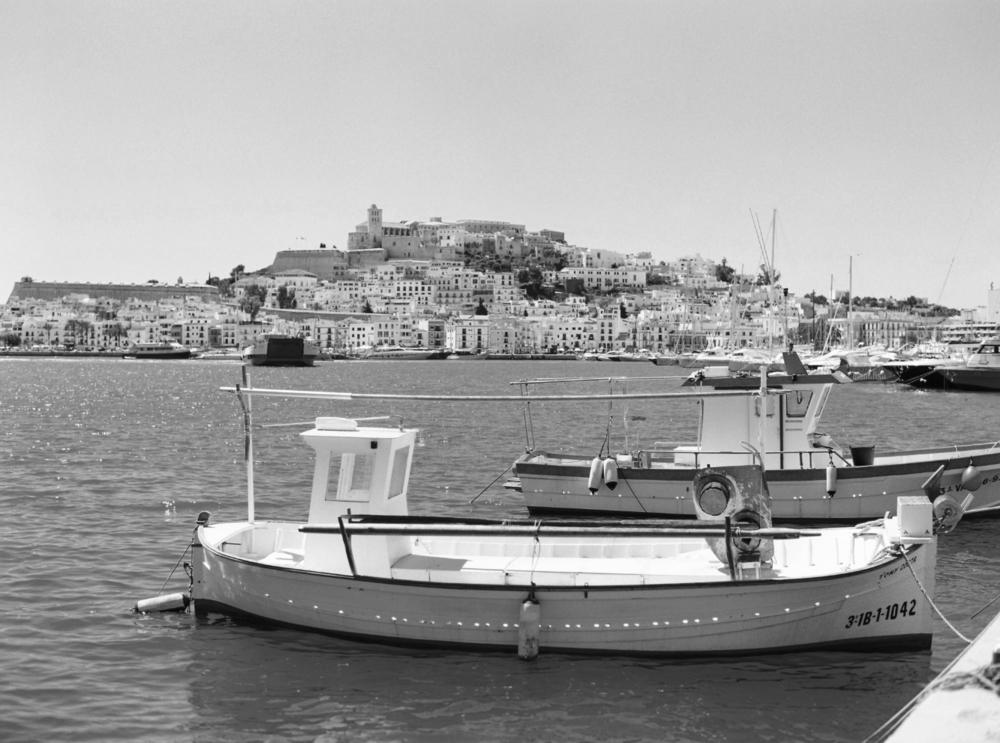 Dalt Vila Ibiza Town Port