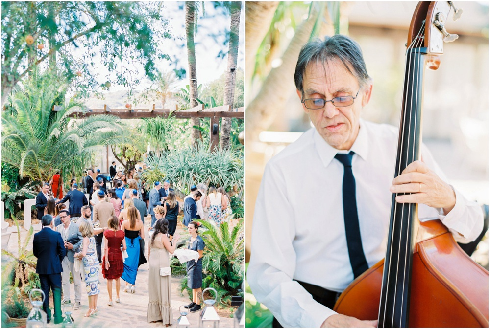 Elegant outdoor jewish wedding Ibiza
