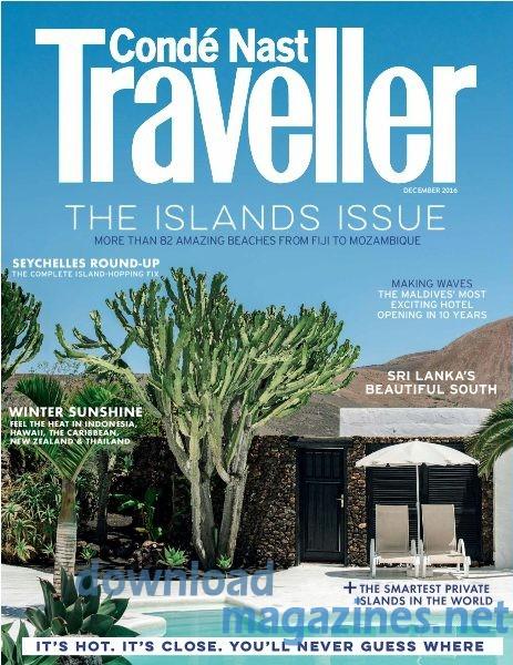 Conde Nast Traveller December Issue UK