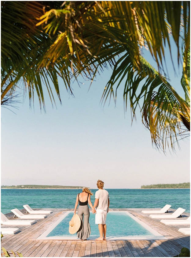 Harbour Island Fashion Marysia Swimwear Couple Session