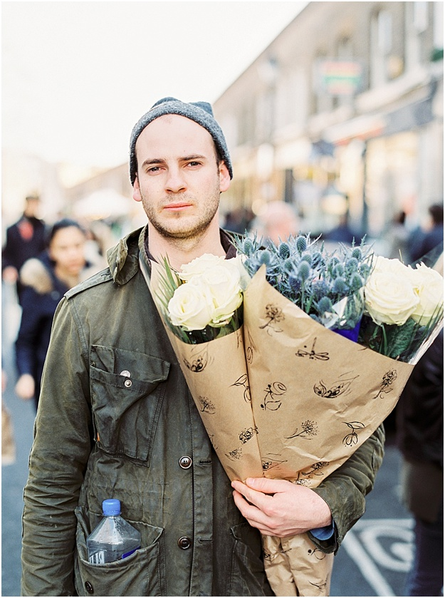 Flower Market London London Boy