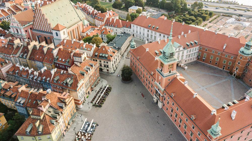 Warsaw Poland Conde Nast Traveller UK best cities in Europe