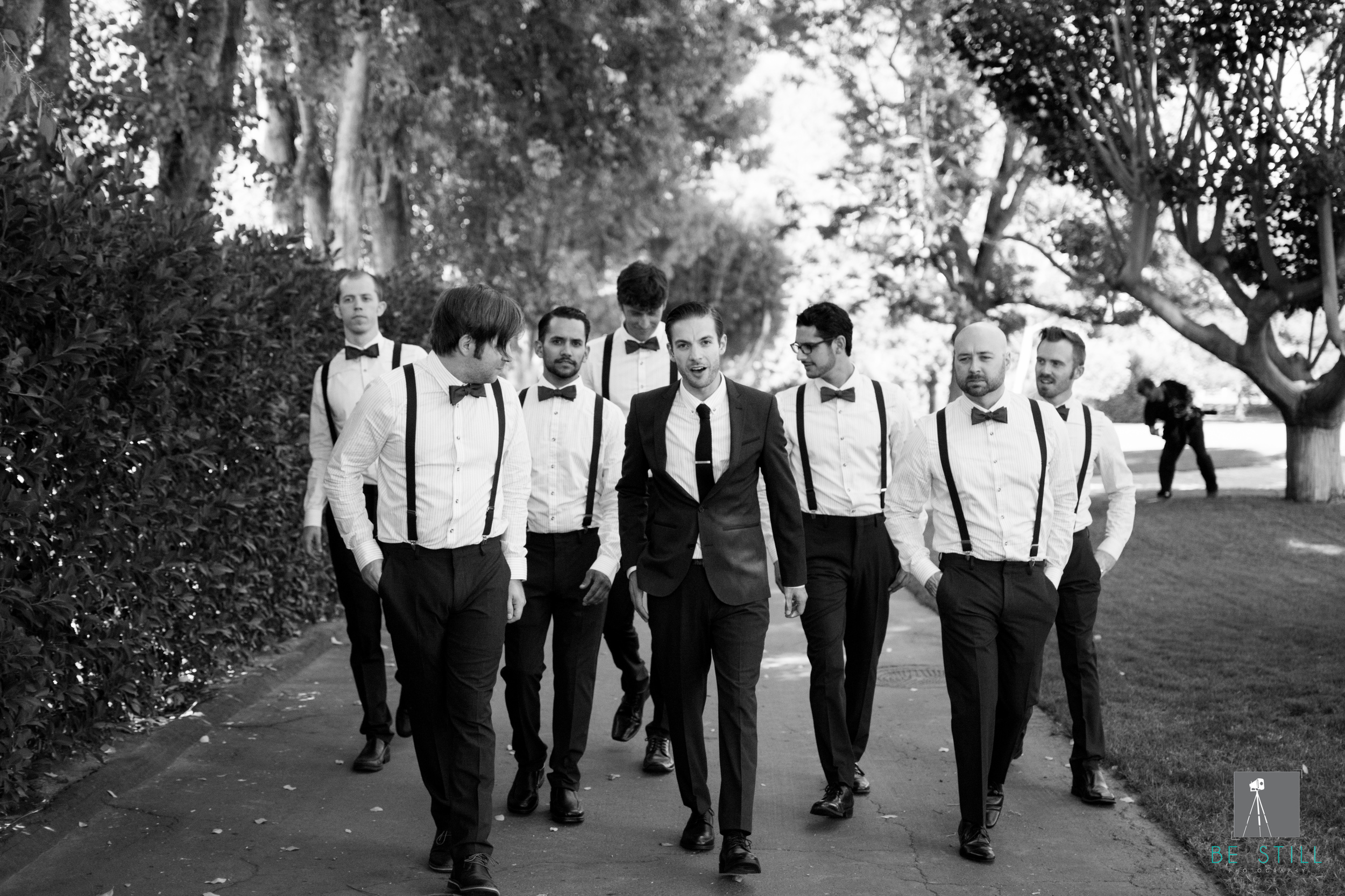 Grand Tradition Fallbrook Estate Groomsmen