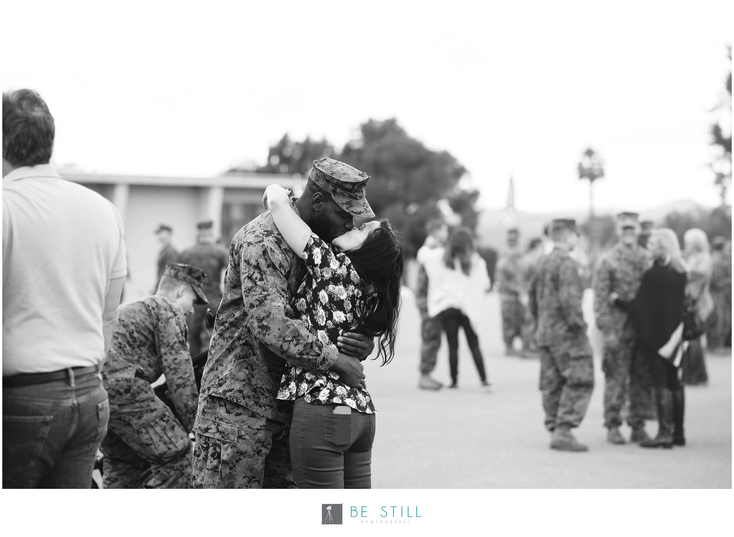 San Diego Military Homecoming photography