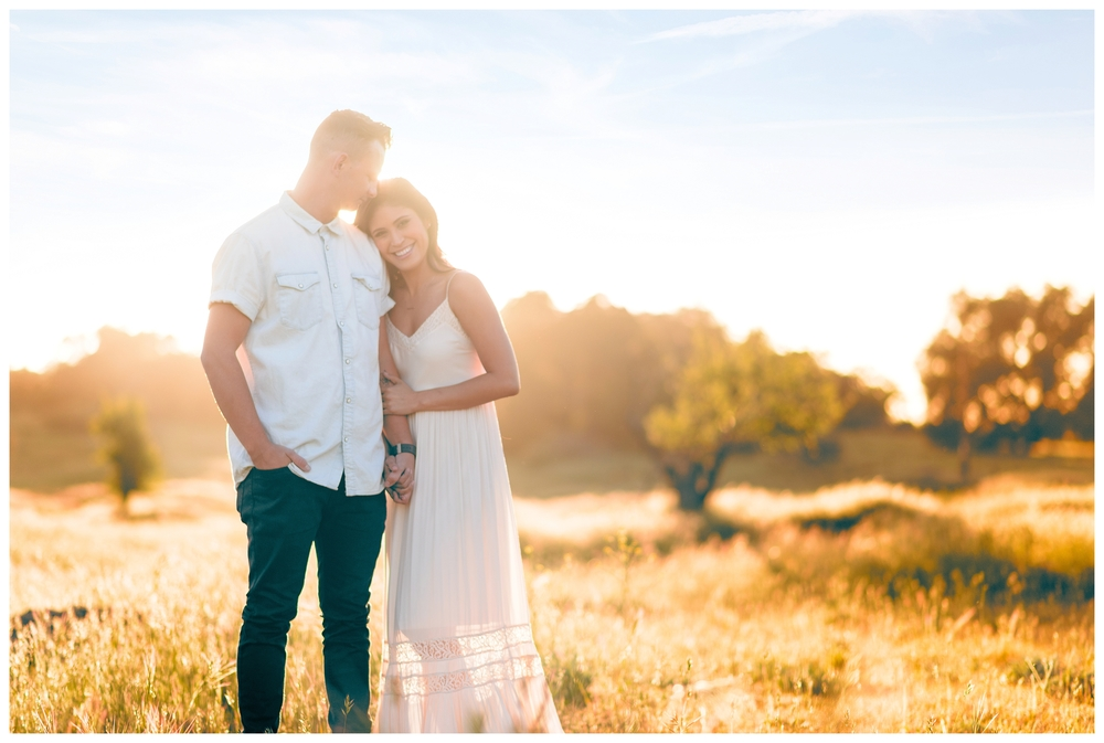 Be Still Photography | Julian Engagement Portraits | Field | Golden Hour