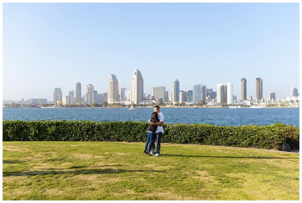 San Diego Proposal Photography | Ernie & Fiona Photography | Coronado Island | Centennial Park