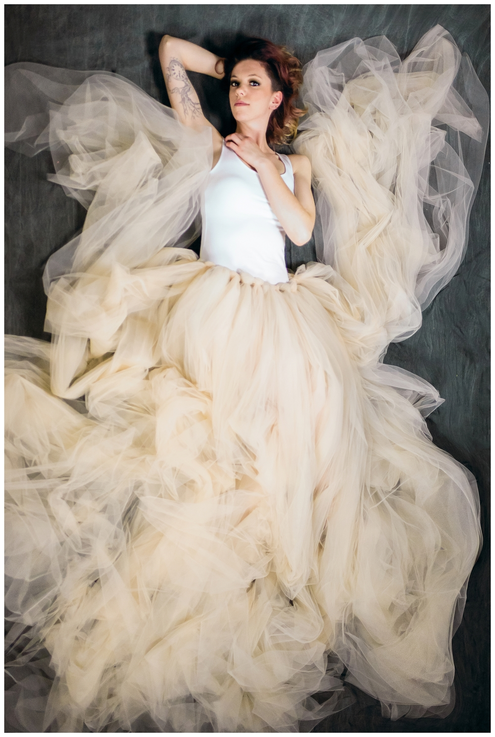 San Diego Beauty Portraits | Tulle Skirt | Ernie & Fiona Photography