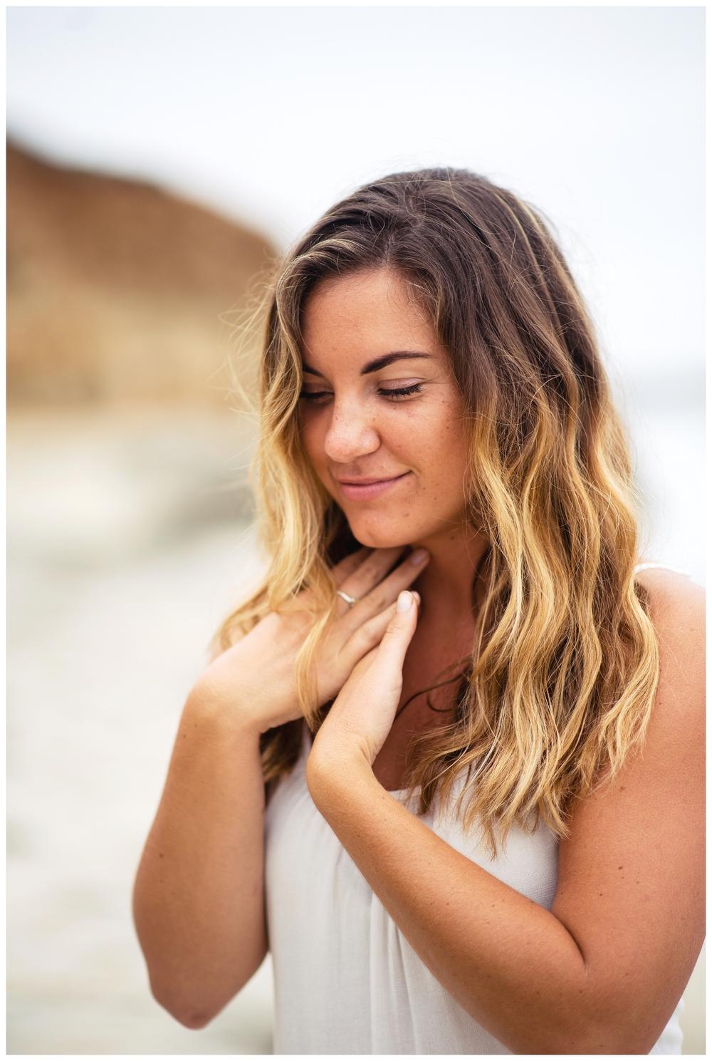 San Diego Portrait Photography | Terramar Beach