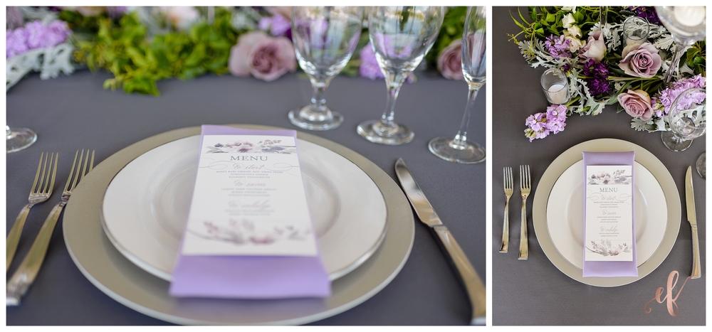 San Diego Wedding Photographer | Lila Canyon Estate | Ernie & Fiona Photography | Dinner setting