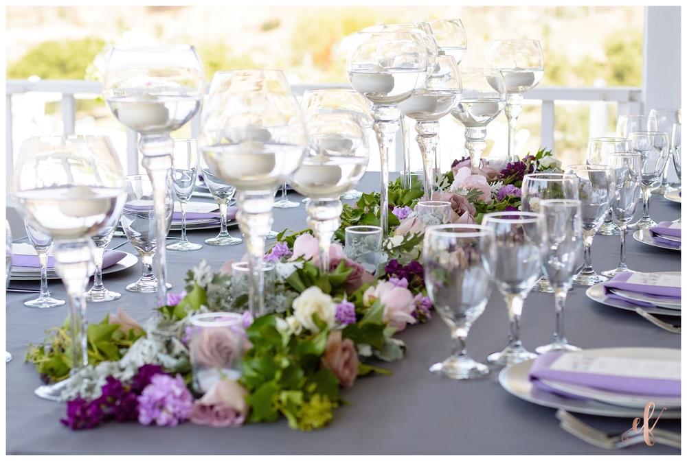 San Diego Wedding Photographer | Lila Canyon Estate | Ernie & Fiona Photography | Table Setting