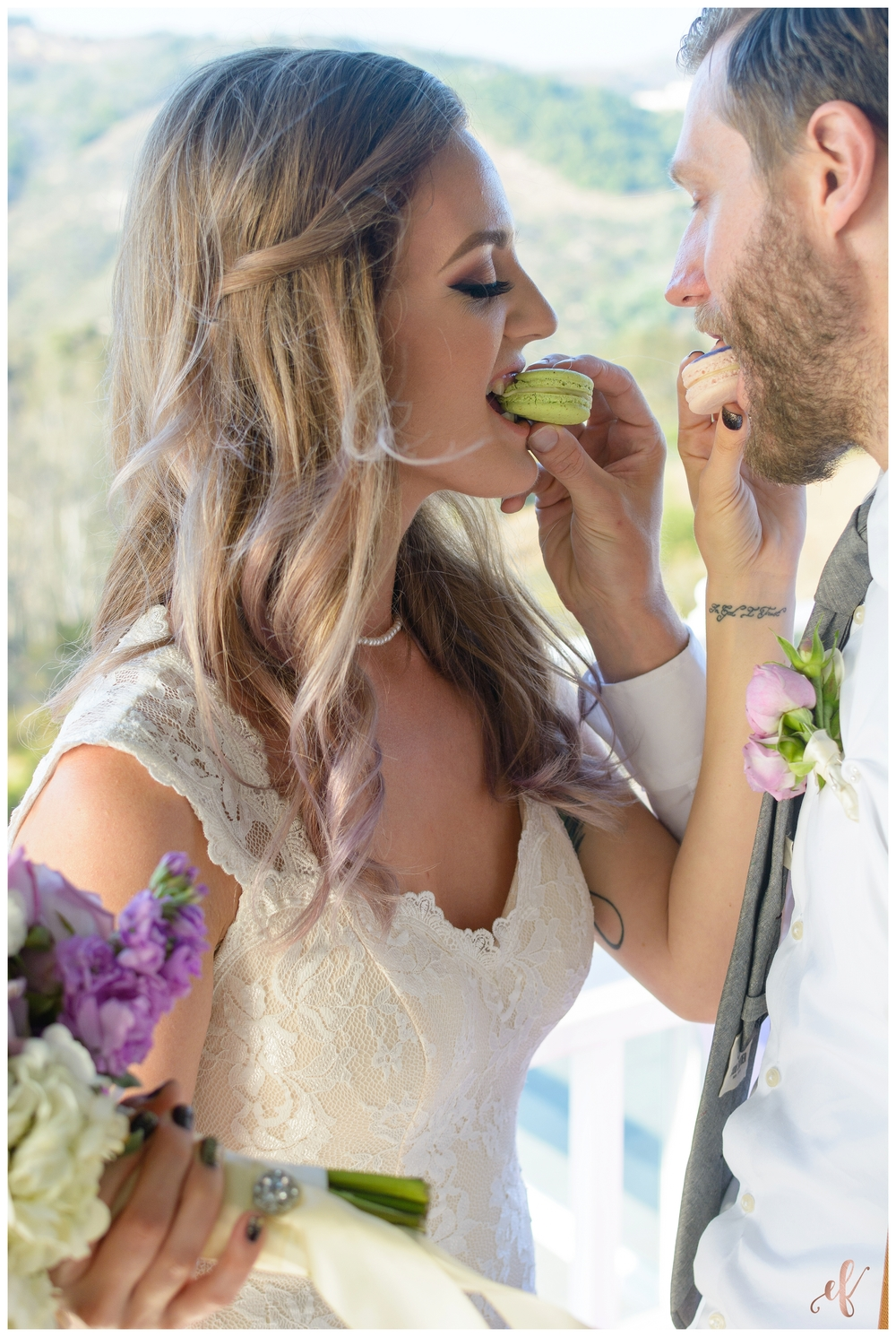 San Diego Wedding Photographer | Lila Canyon Estate | Ernie & Fiona Photography | D'Angelo Couture | BeLoved Hair and Makeup | Jenny Wenny Cakes