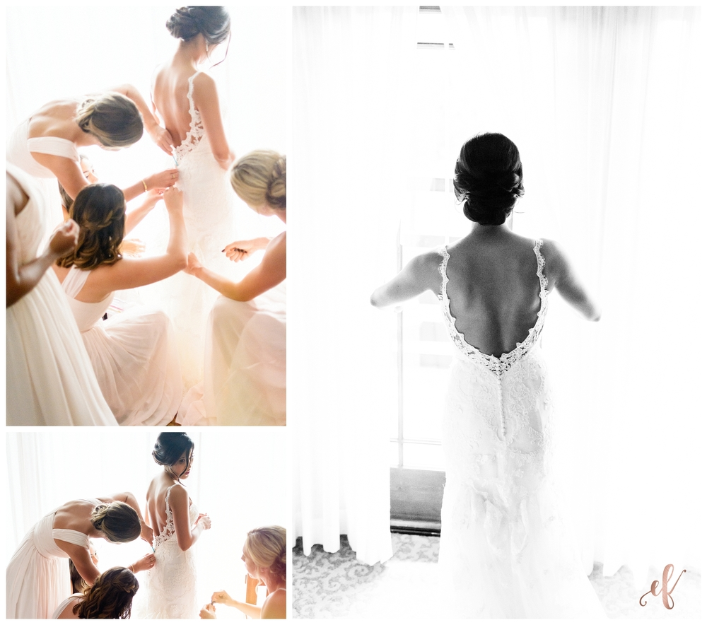 San Diego Wedding Photographer | Ernie & Fiona Photography | Getting Ready | Bride | Dress
