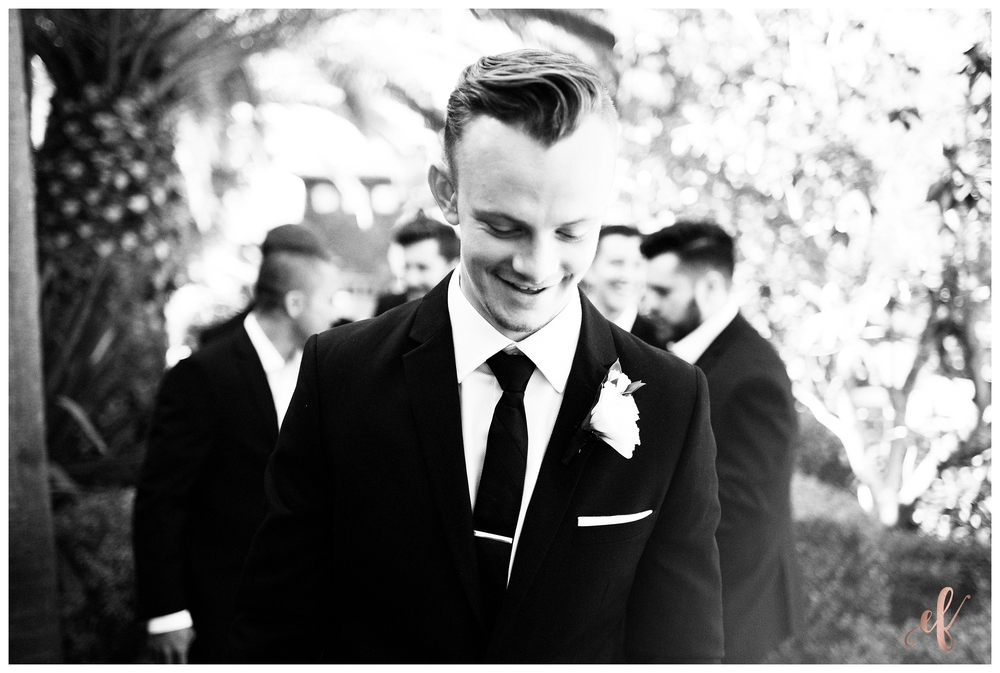 San Diego Wedding Photographer | Ernie & Fiona Photography | Groom | Groomsmen
