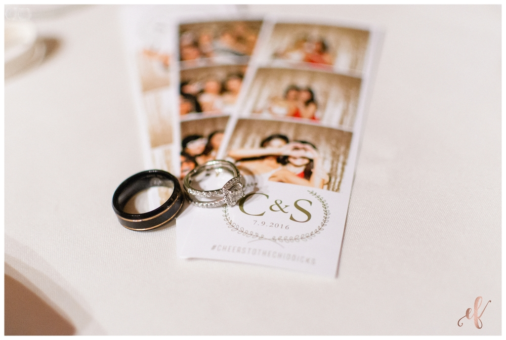 San Diego Wedding Photographer | Ernie & Fiona Photography | Rings | Photo Booth