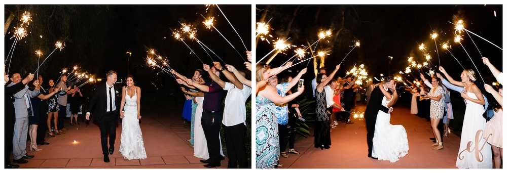 San Diego Wedding Photographer | Ernie & Fiona Photography | Bride | Groom | Sparklers