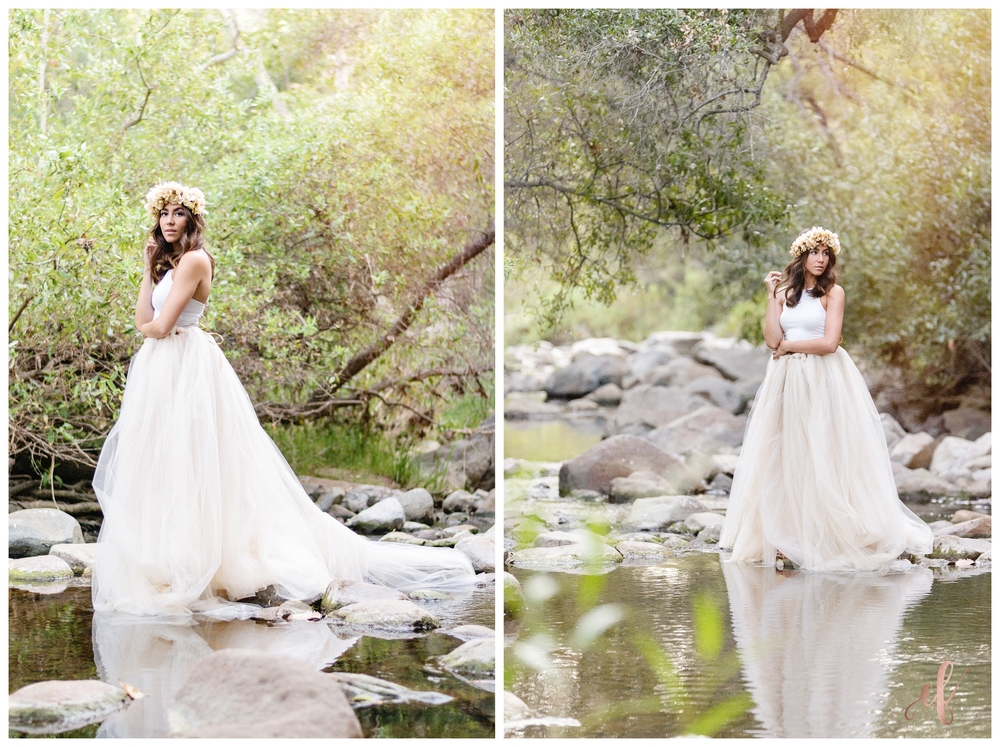 San Diego Portrait Photography | Elfin Forest | Tulle Skirt