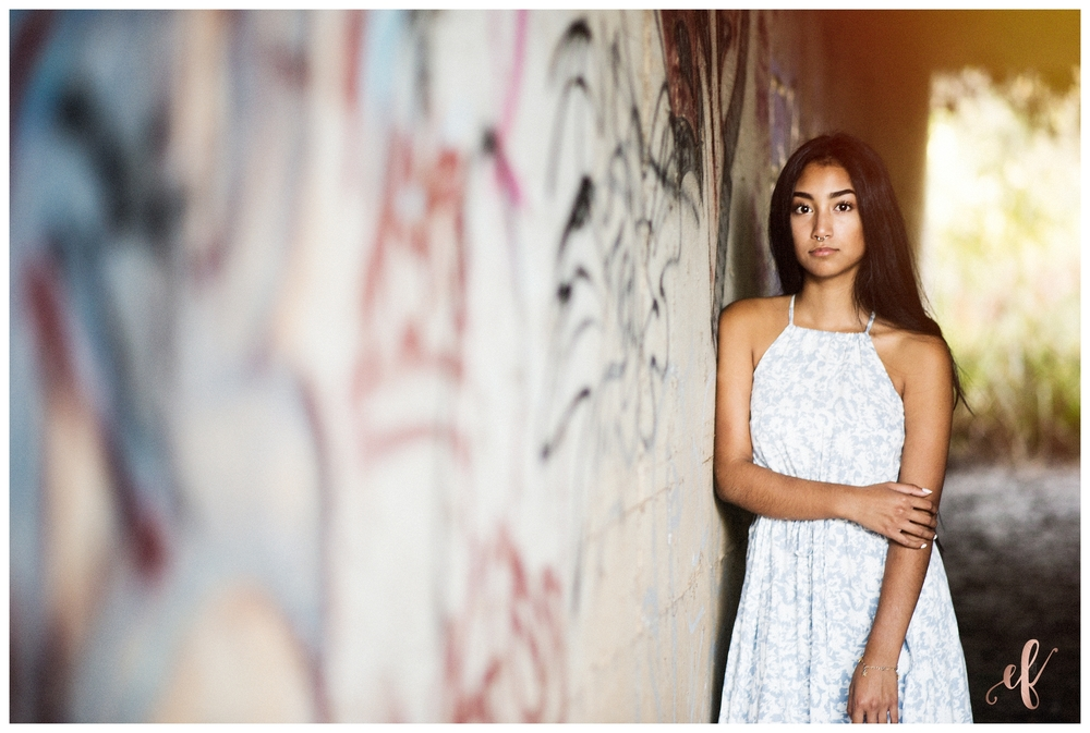 San Diego Senior Photography | Graffiti | Destiny