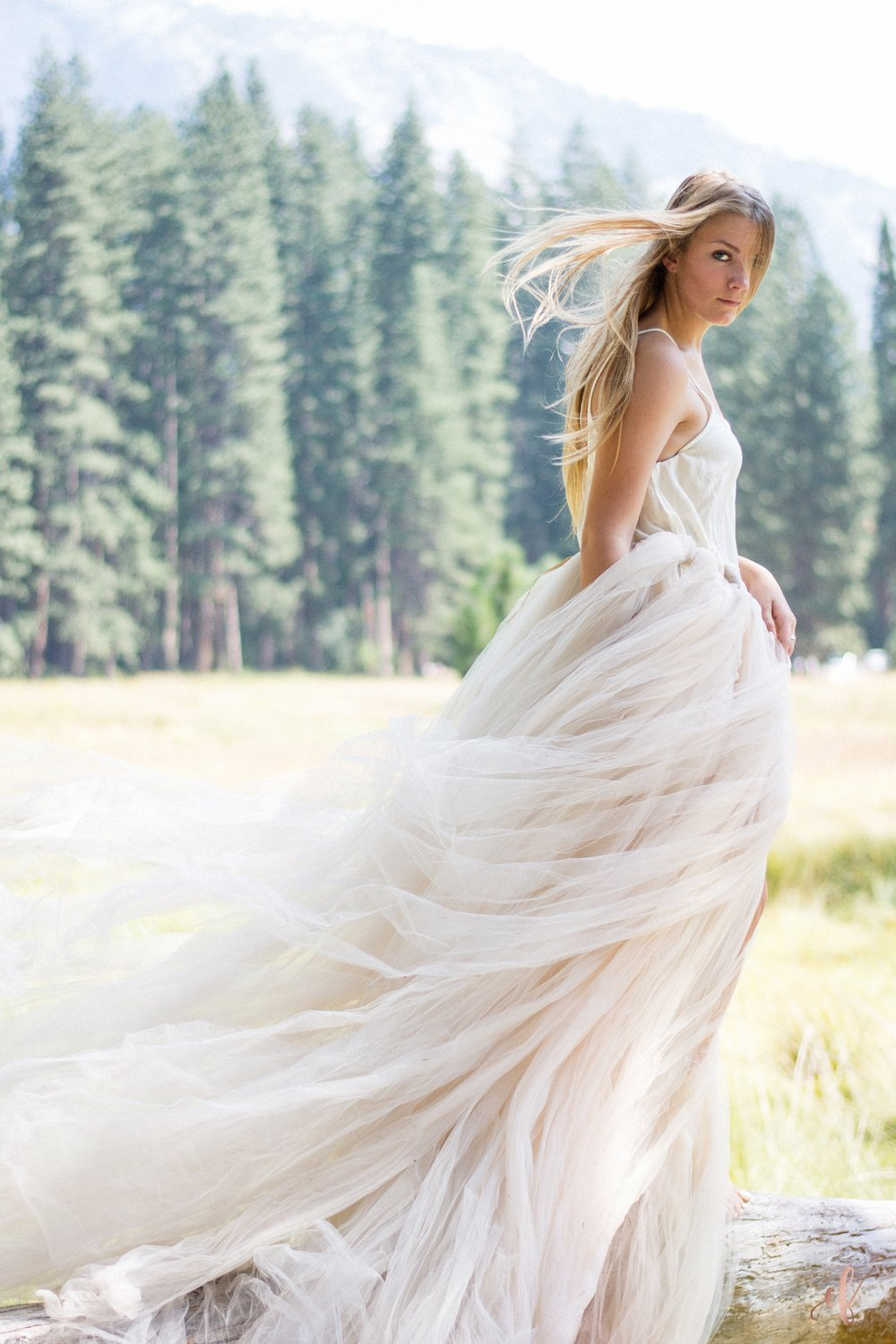 San Diego Portrait Photography | Yosemite | Senior Portraits | Tulle Skirts