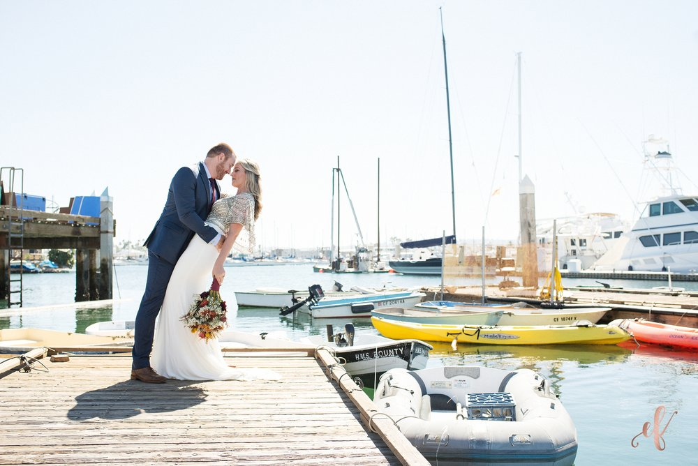 Ernie & Fiona Photography | San Diego Wedding Photography | Point Loma | Pier