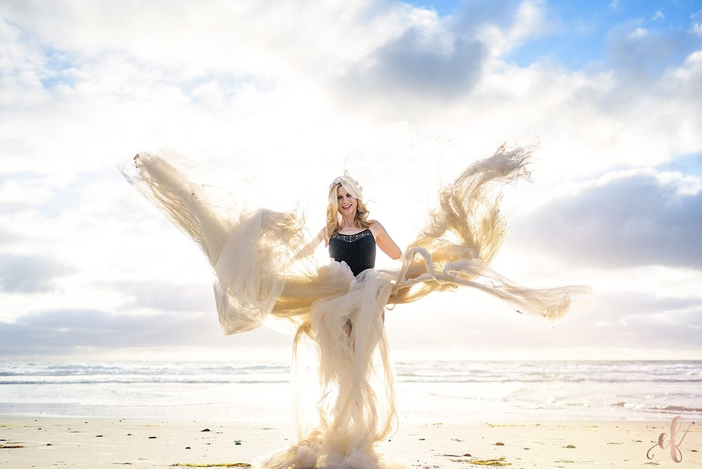 San Diego Portrait Photography | Beauty | Tulle Skirt