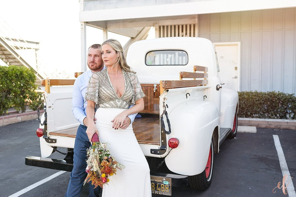 San Diego Wedding Photographer | Stone Brewery | Sherri Hill Wedding Dress