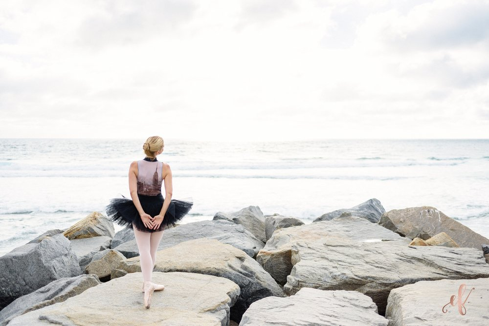 San Diego Portrait Photography | Ballet | Beach