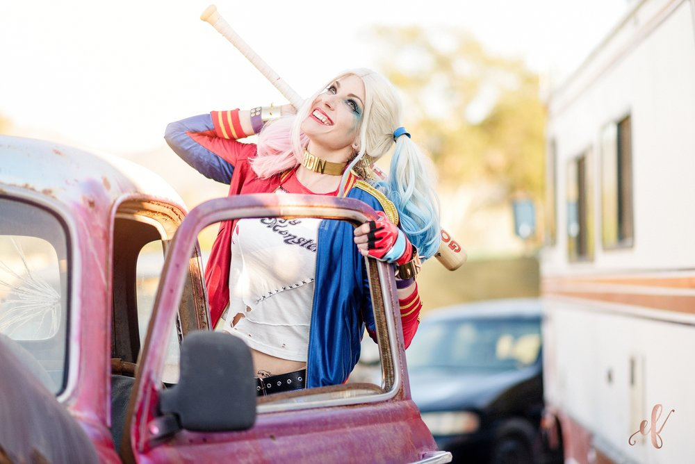 San Diego Portrait Photography | Cosplay | Harley Quinn