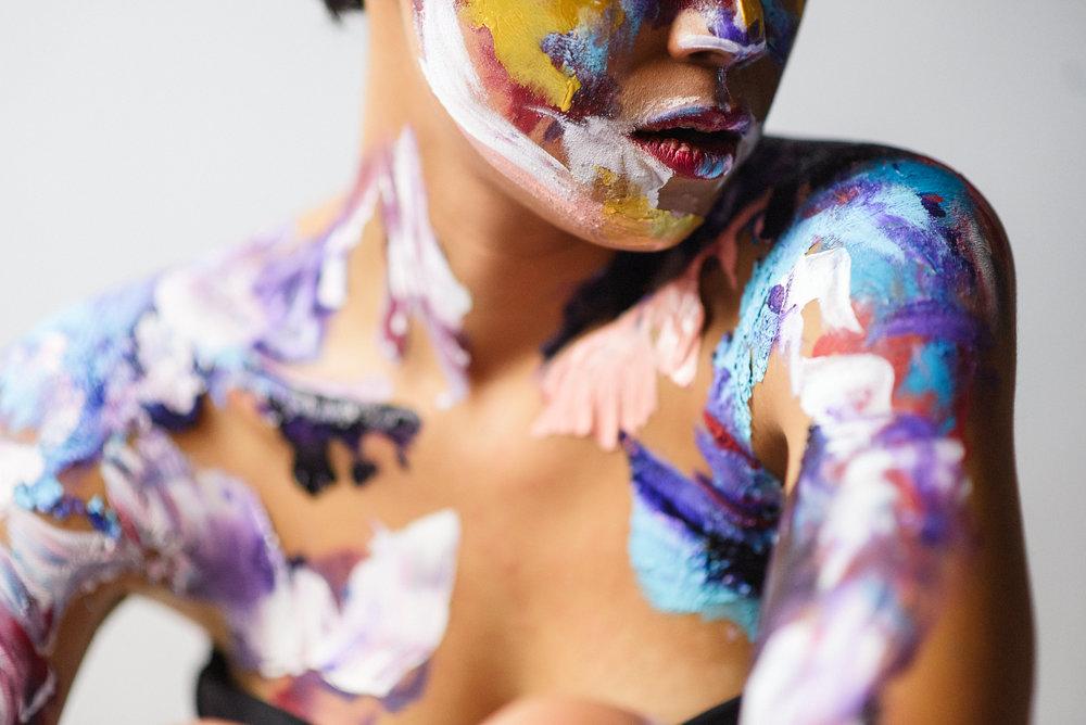 san diego portrait photographer | Paint | Human Canvas