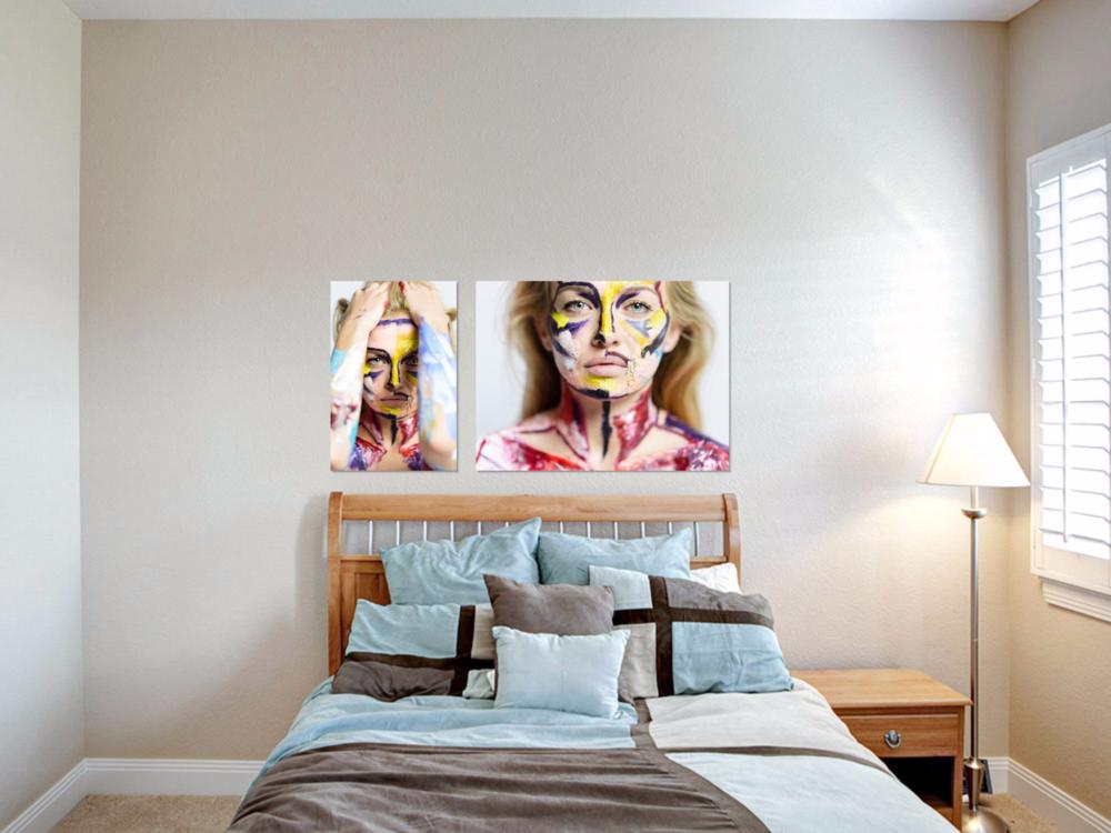 San Diego Portrait Photographer | Paint Portrait | Canvases