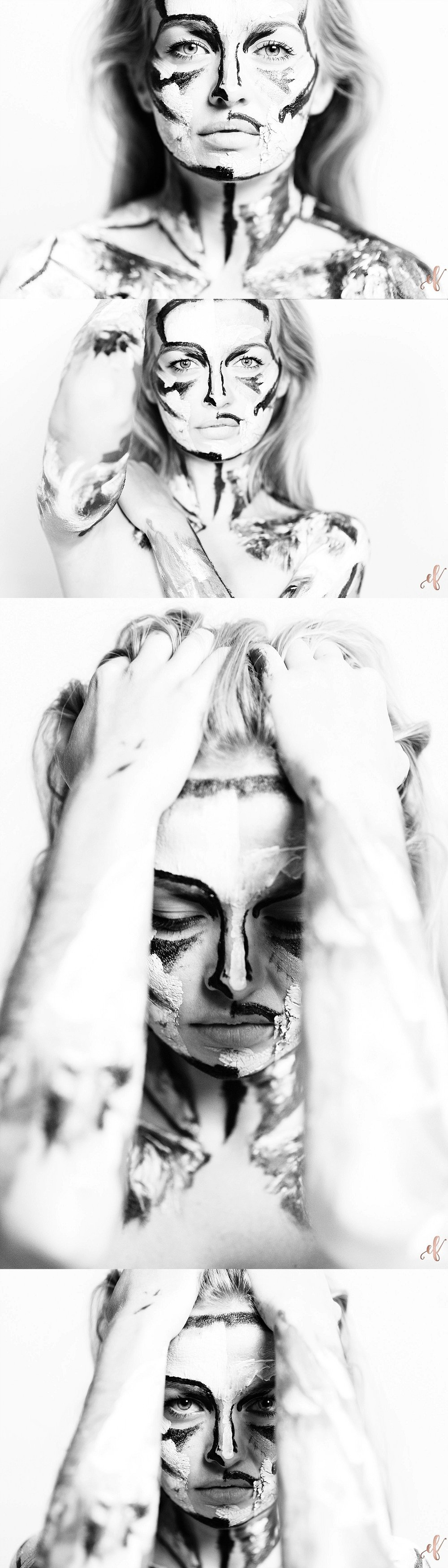 Paint Portraits | Human Canvas | Ernie & Fiona Photography