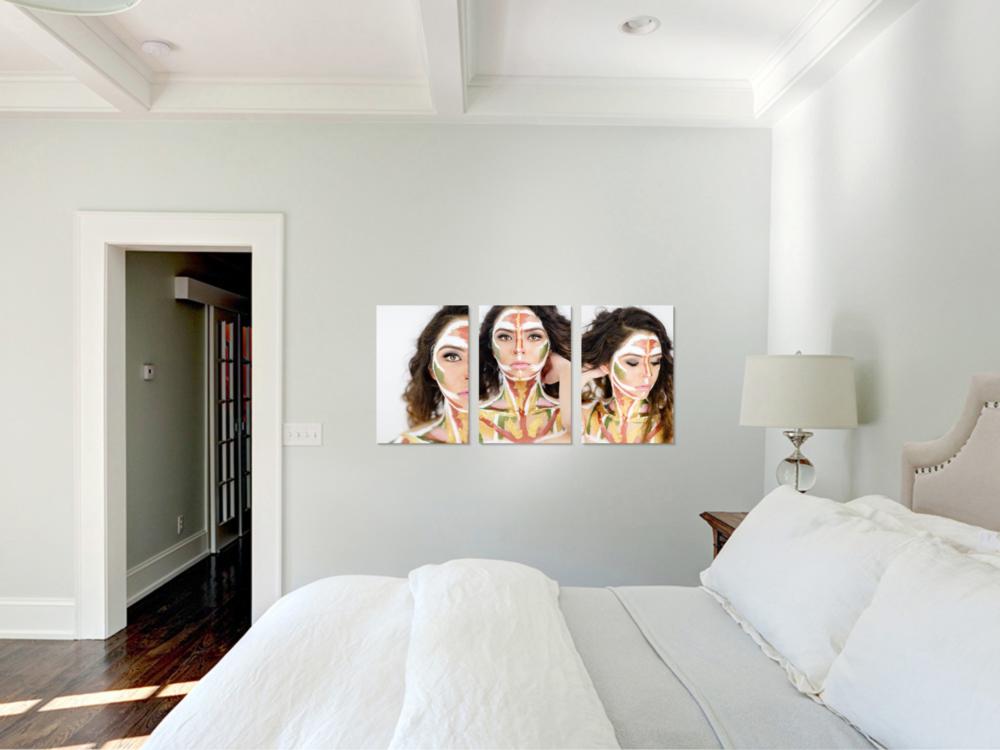 San Diego Portrait Photographers | Paint Portraits | Human Canvas | Prints