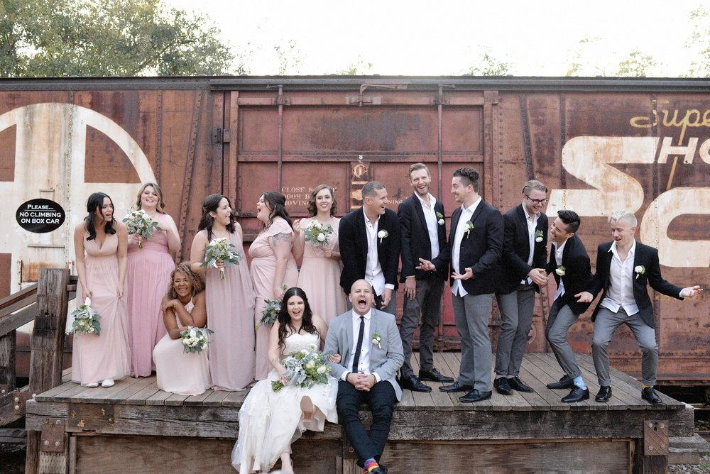 San Diego Wedding Photography | Bridal Party Photos | Ernie Padaon | Fiona Padaon