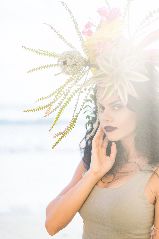 San Diego Portrait Photographer | Flower Crown | Ernie & Fiona | Rae Florae