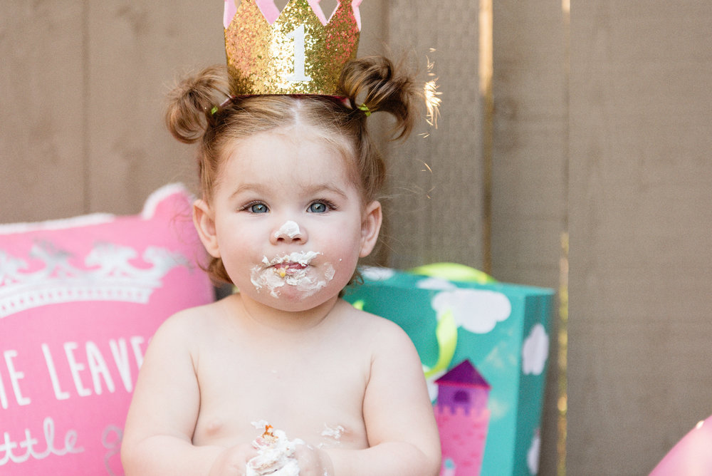 San Diego Portrait Photographer | Cake Smash