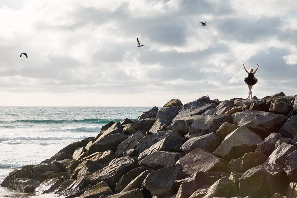 Ponto Beach | Ballet Photo Shoot |